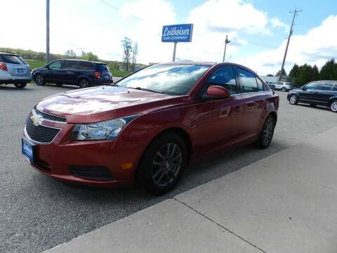 2013 Chevrolet Cruze for sale at Leitheiser Car Company in West Bend WI