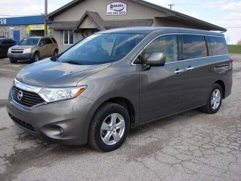 2015 Nissan Quest for sale at Lehmans Automotive in Berne IN