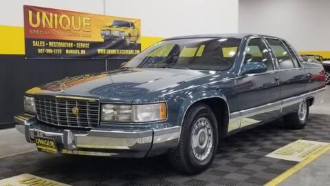 1995 Cadillac Fleetwood for sale at UNIQUE SPECIALTY & CLASSICS in Mankato MN