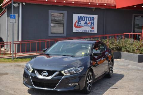 2017 Nissan Maxima for sale at Motor Car Concepts II - Kirkman Location in Orlando FL