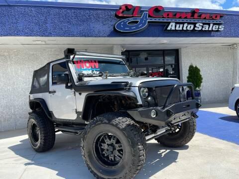 2007 Jeep Wrangler for sale at El Camino Auto Sales Gainesville in Gainesville GA