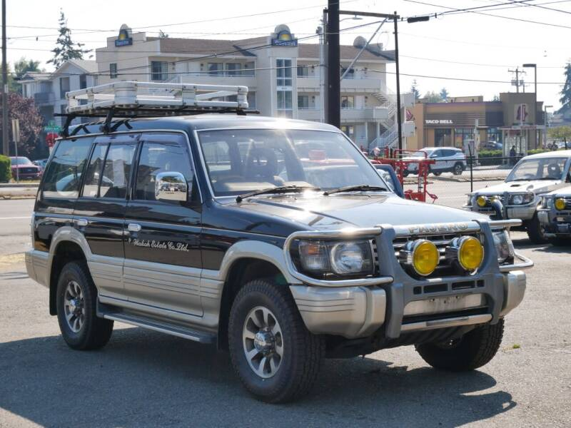 1992 Mitsubishi Pajero Turbo Diesel for sale at JDM Car & Motorcycle LLC in Seattle WA