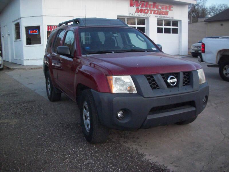 2007 Nissan Xterra for sale at Wildcat Motors - Main Branch in Junction City KS