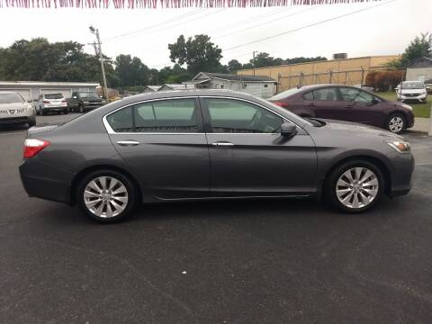 2014 Honda Accord for sale at Kenny's Auto Sales Inc. in Lowell NC