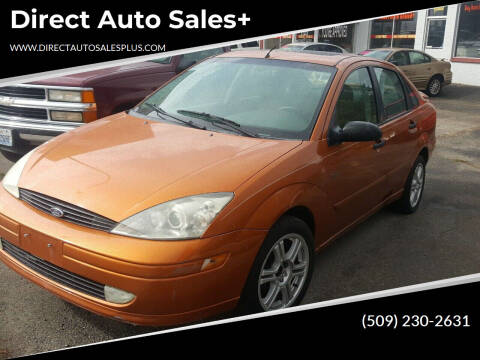 2002 Ford Focus for sale at Direct Auto Sales+ in Spokane Valley WA