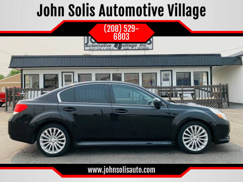 2011 Subaru Legacy for sale at John Solis Automotive Village in Idaho Falls ID