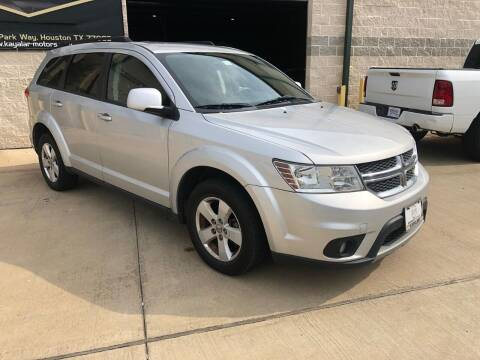 2011 Dodge Journey for sale at KAYALAR MOTORS Mechanic in Houston TX