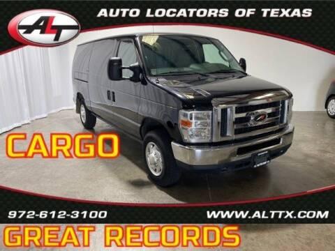 2013 Ford E-Series Cargo for sale at AUTO LOCATORS OF TEXAS in Plano TX