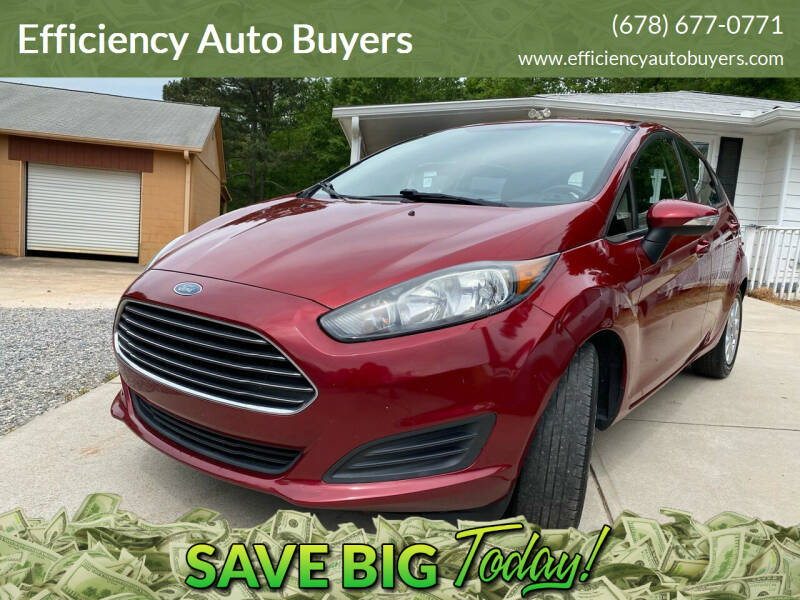 2014 Ford Fiesta for sale at Efficiency Auto Buyers in Milton GA