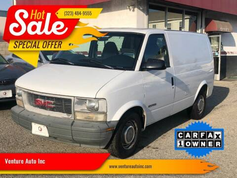 1999 GMC Safari Cargo for sale at Venture Auto Inc in South Gate CA