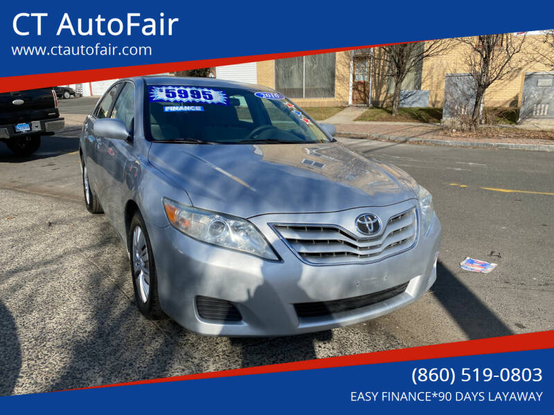 2010 Toyota Camry for sale at CT AutoFair in West Hartford CT