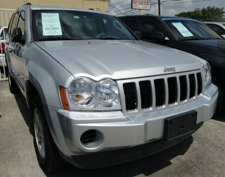 2007 Jeep Grand Cherokee for sale at TEXAS MOTOR CARS in Houston TX