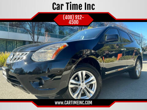 2013 Nissan Rogue for sale at Car Time Inc in San Jose CA