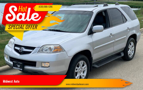 2004 Acura MDX for sale at Midwest Auto in Naperville IL