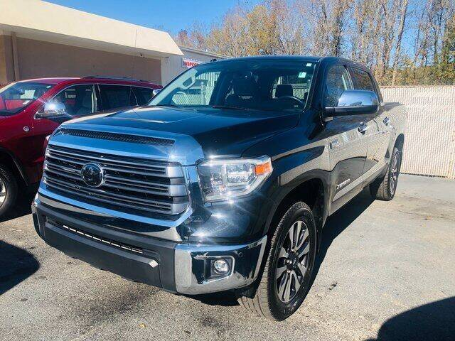 2018 Toyota Tundra for sale at Brandon Reeves Auto World in Monroe NC