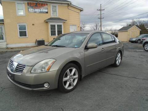 2006 Nissan Maxima for sale at Top Gear Motors in Winchester VA