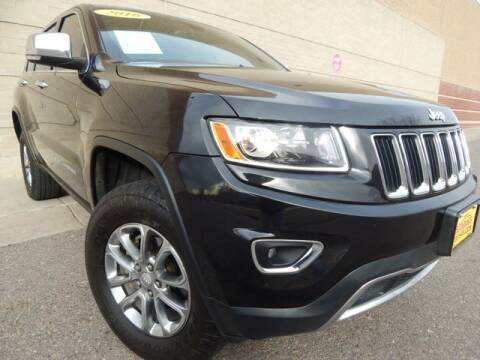 2016 Jeep Grand Cherokee for sale at Altitude Auto Sales in Denver CO