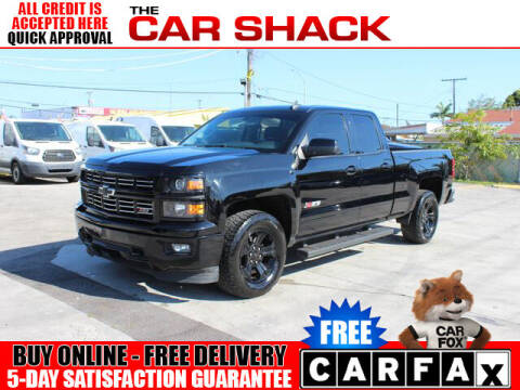 2015 Chevrolet Silverado 1500 for sale at The Car Shack in Hialeah FL