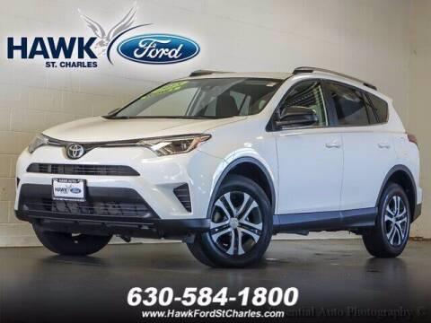 2018 Toyota RAV4 for sale at Hawk Ford of St. Charles in St Charles IL