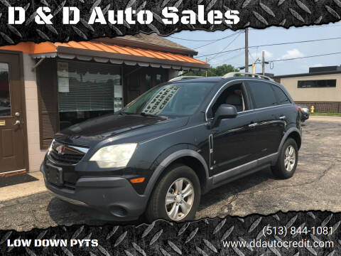 2008 Saturn Vue for sale at D & D Auto Sales in Hamilton OH