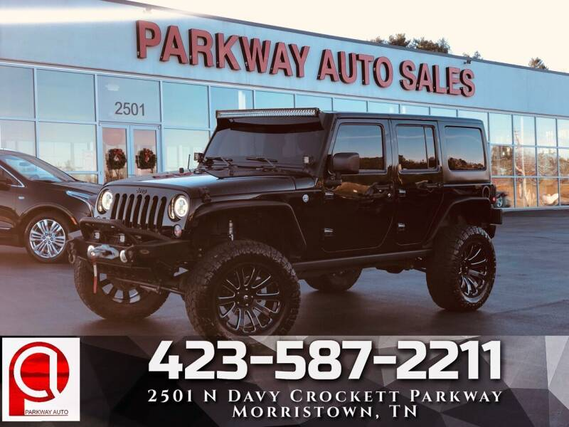 2016 Jeep Wrangler Unlimited for sale at Parkway Auto Sales, Inc. in Morristown TN