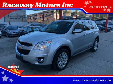 2010 Chevrolet Equinox for sale at Raceway Motors Inc in Brooklyn NY