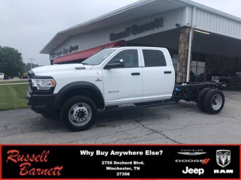 2020 RAM Ram Chassis 5500 for sale at Russell Barnett Chrysler Dodge Jeep Ram in Winchester TN