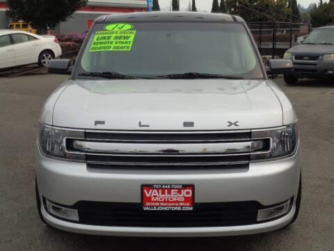 2014 Ford Flex for sale at Vallejo Motors in Vallejo CA