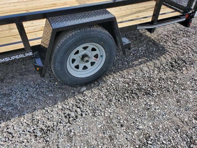 2020 CAM SUPERLINE 7X12 for sale at STAUNTON TRACTOR INC - trailers in Staunton VA