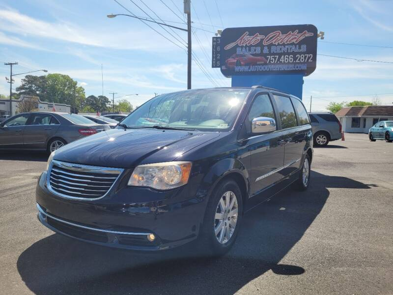 2011 Chrysler Town and Country for sale at Auto Outlet Sales and Rentals in Norfolk VA