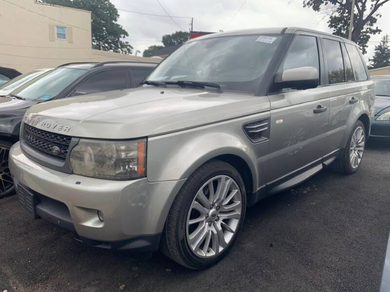 2011 Land Rover Range Rover Sport for sale at Park Avenue Auto Lot Inc in Linden NJ