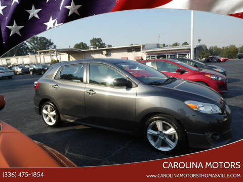 2009 Toyota Matrix for sale at CAROLINA MOTORS - Carolina Classics & More-Thomasville in Thomasville NC