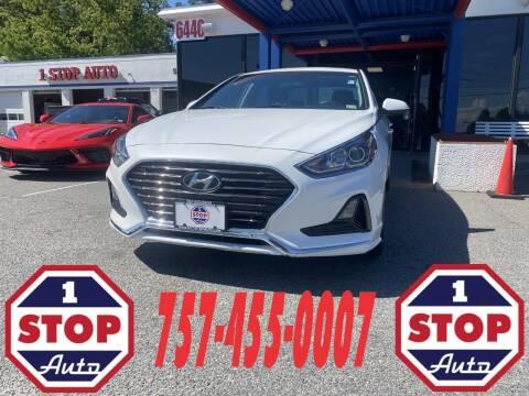2018 Hyundai Sonata for sale at 1 Stop Auto in Norfolk VA