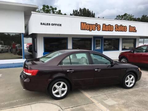 2006 Hyundai Sonata for sale at Moye's Auto Sales Inc. in Leesburg FL