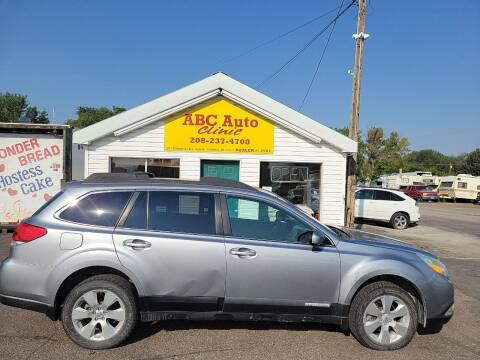 2010 Subaru Outback for sale at ABC AUTO CLINIC in Chubbuck ID