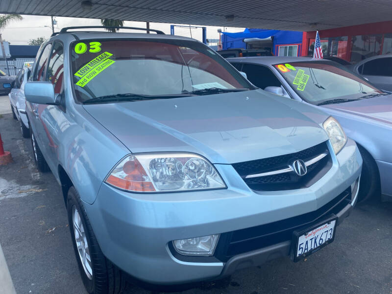 2003 Acura MDX for sale at North County Auto in Oceanside CA