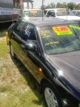 1999 Infiniti G20 for sale at Finish Line Auto LLC in Luling LA