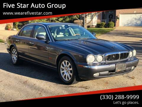 2004 Jaguar XJ-Series for sale at Five Star Auto Group in North Canton OH