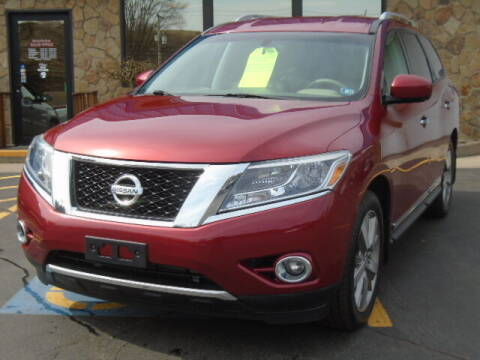 2014 Nissan Pathfinder for sale at Rogos Auto Sales in Brockway PA