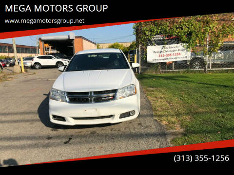 2013 Dodge Avenger for sale at MEGA MOTORS GROUP in Redford MI