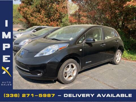 2012 Nissan LEAF for sale at Impex Auto Sales in Greensboro NC