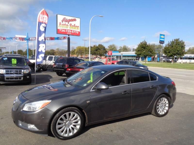 2011 Buick Regal for sale at Aspen Auto Sales in Wayne MI