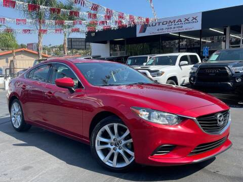2015 Mazda MAZDA6 for sale at Automaxx Of San Diego in Spring Valley CA
