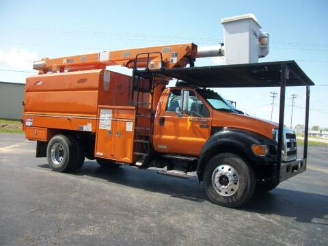 2010 Ford F750 Chip Dump  for sale at Classics Truck and Equipment Sales in Cadiz KY