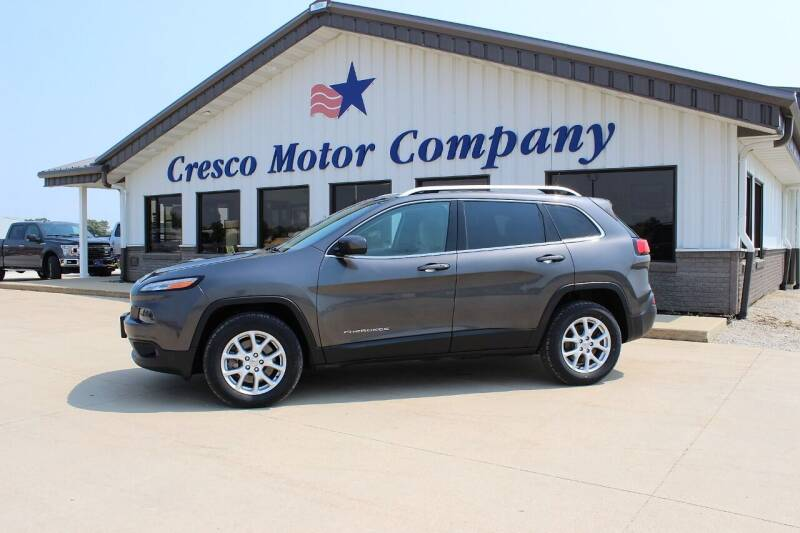 2015 Jeep Cherokee for sale at Cresco Motor Company in Cresco IA