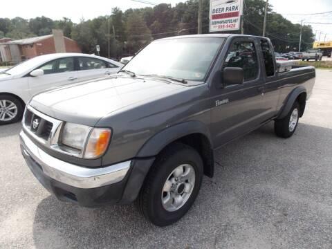 2000 Nissan Frontier for sale at Deer Park Auto Sales Corp in Newport News VA