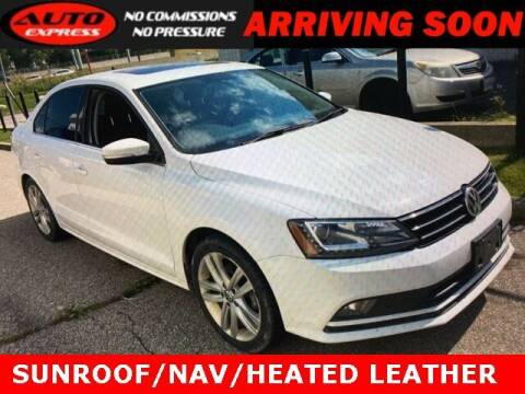 2016 Volkswagen Jetta for sale at Auto Express in Lafayette IN