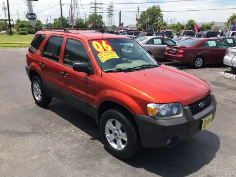2006 Ford Escape for sale at Texas 1 Auto Finance in Kemah TX