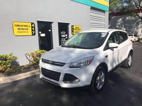 2014 Ford Escape for sale at FLORIDA CAR TRADE LLC in Davie FL