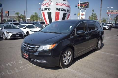 2017 Honda Odyssey for sale at Choice Motors in Merced CA